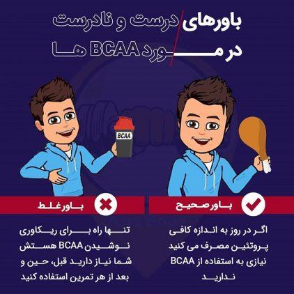 باورهای درست و نادرست در مورد BCAA