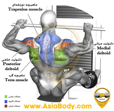 PULL WIDE ARMS AT THE HIGH PULLEY 1