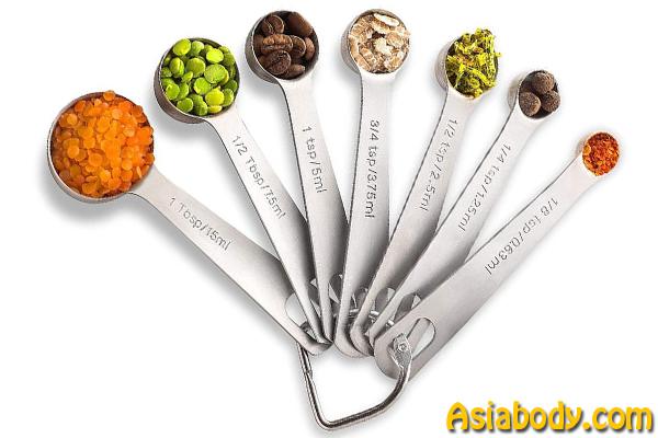 4. به اندازه ظرف های مناسب بخورید - 10 راه برای کم کردن کالری