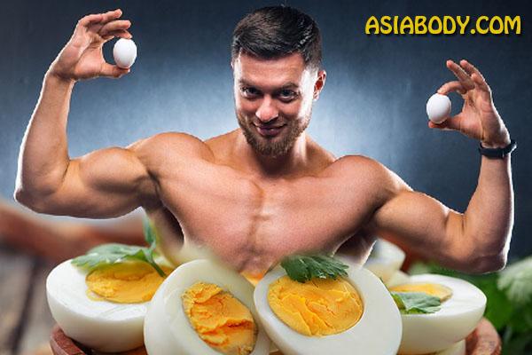 تخم مرغ برای کاهش وزن