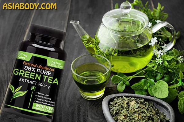 عصاره چای سبز کاهش وزن