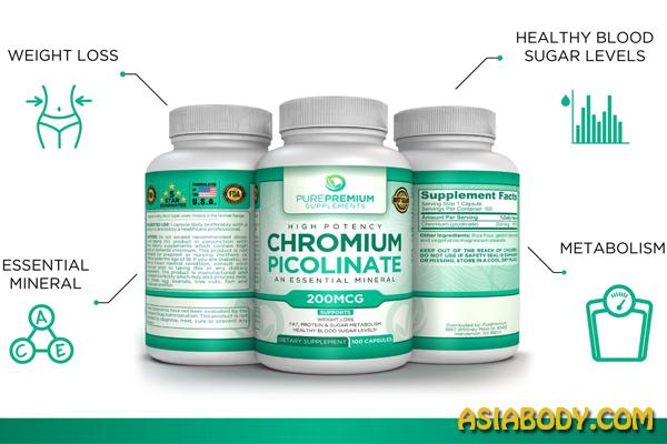 کروم پیکولینات کاهش وزن