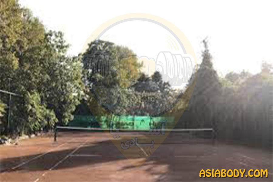 باشگاه تنیس آنزو کاخ سعدآباد