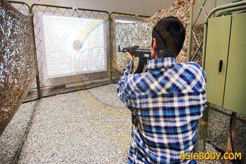 تیراندازی شبیه ساز شهید همدانی