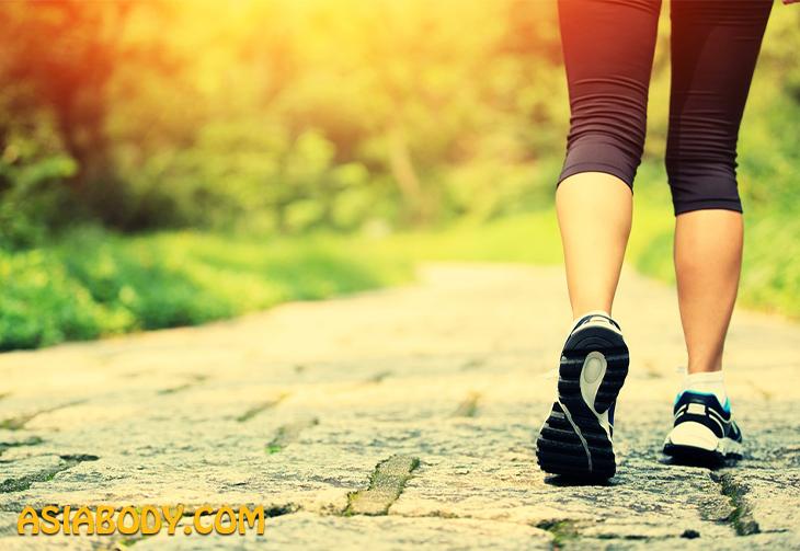پیاده روی و دویدن در قاعدگی