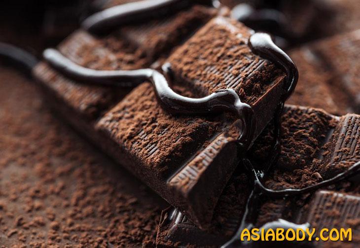 شکلات تلخ و لاغری 4