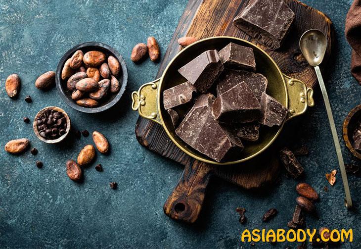 شکلات تلخ و لاغری  5