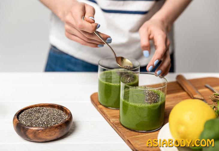 دانه چیا و تخم شربتی (6)
